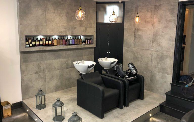 Carpentry in Herts hairdressing salon
