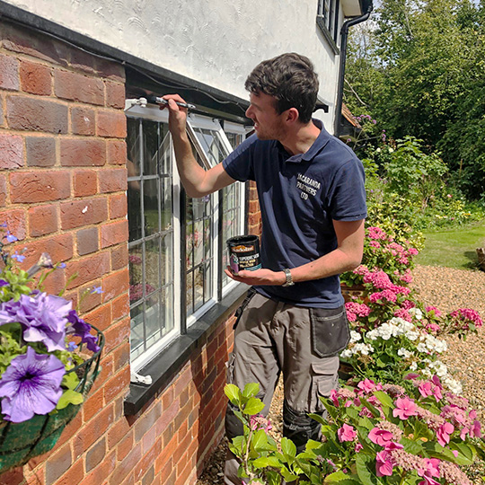External painting in Hertfordshire